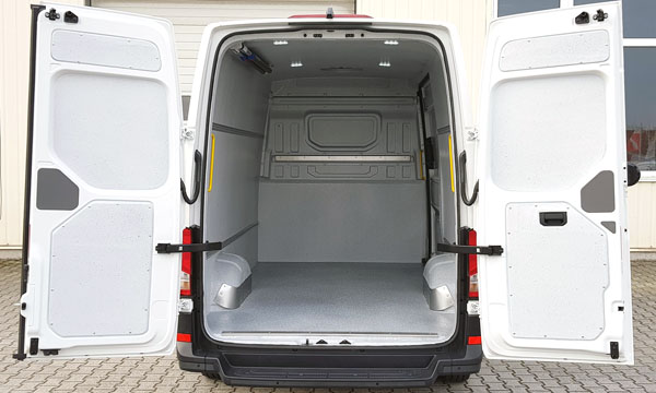 VW Crafter mit Hygieneausbau