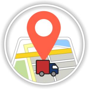 Fahrzeugortung mittel GPS Tracking der Fahrzeuge durch eine Telematiklösung