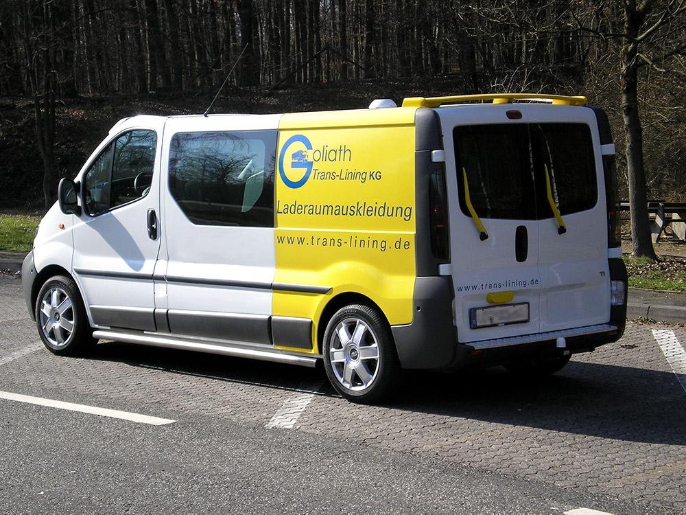 Schwellerschutzrohre schützen vor seitlichen Schäden am Fahrzeug