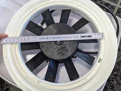 Montage Maße elektrisch Dachlüfter für Transporter und Kastenwagen