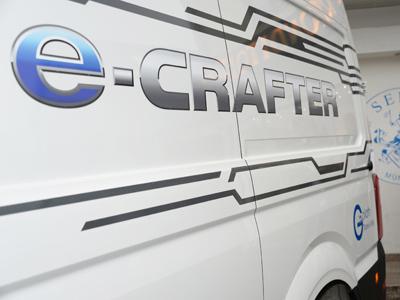 Volkswagen e-Crafter mit Hygieneausbau von Goliath Trans-Lining