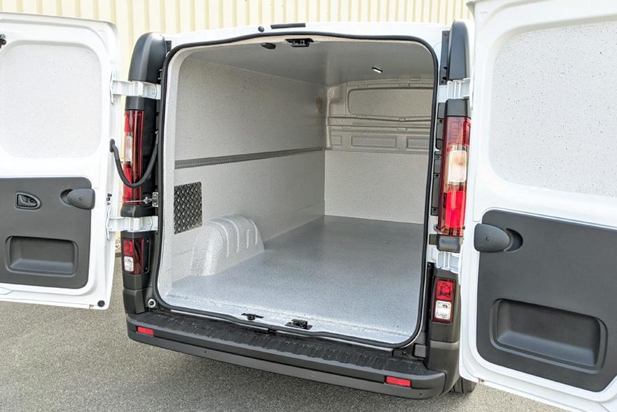 Bäckereifahrzeug Transporter Renault Trafic mit Hygieneausbau