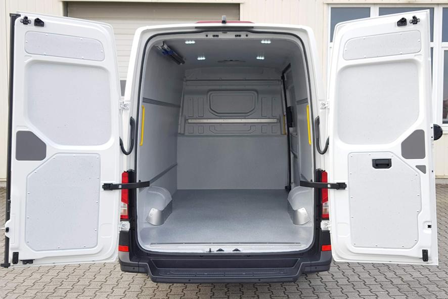 Hygieneausbau Trans-Clean im VW Crafter mit UBB