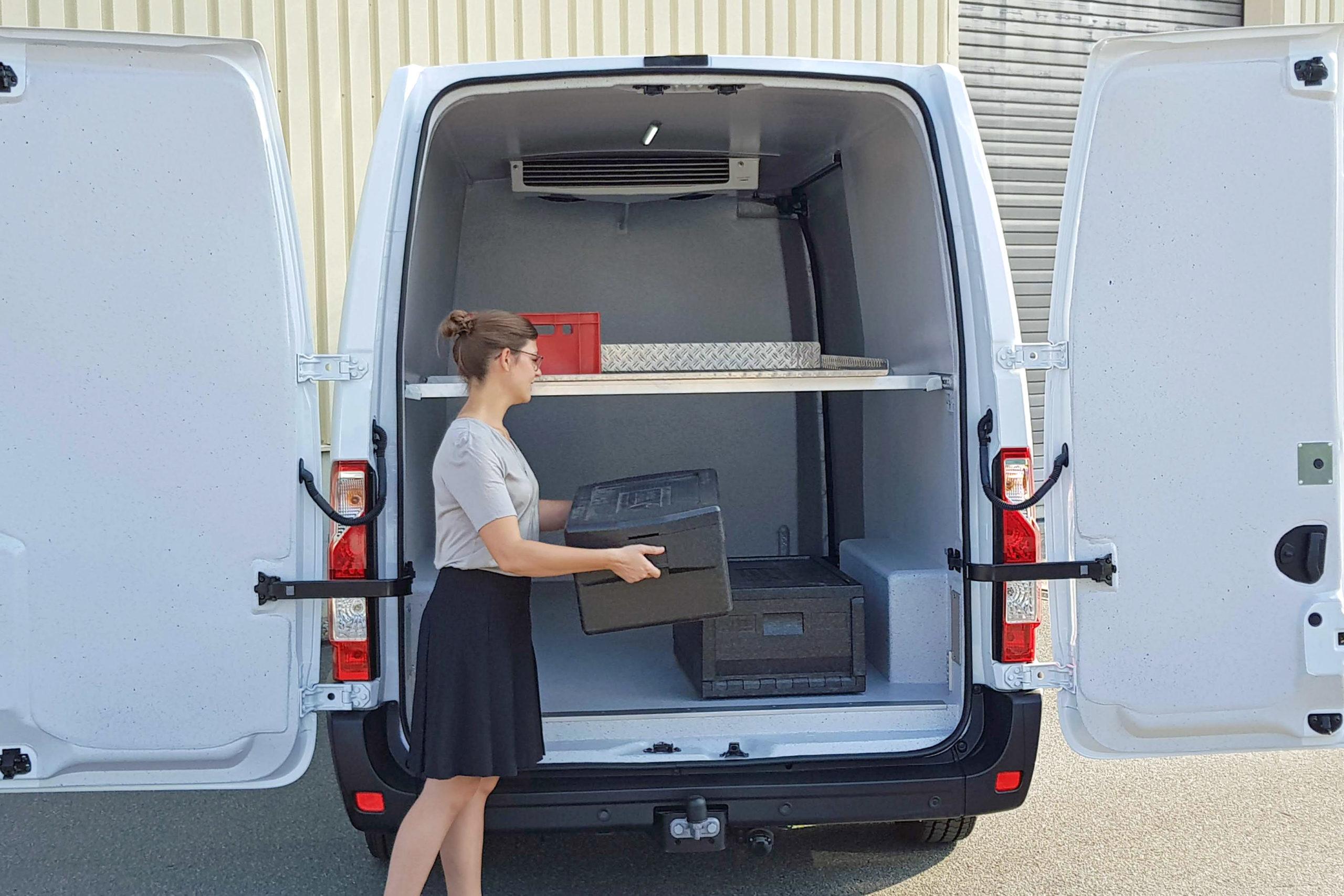 Kühlausbau Trans-Fresh | das Kühlfahrzeug von Goliath Trans-Lining