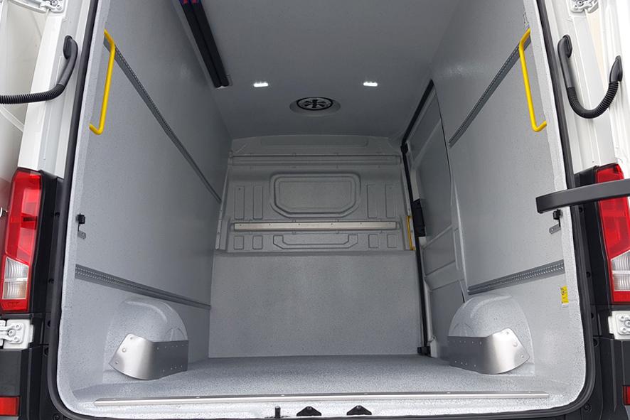 Hygieneausbau für Transporter im VW Crafter
