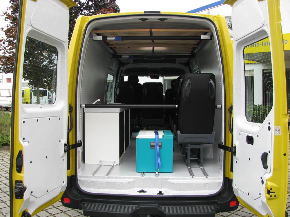 Fahrzeugausbau eines Opel Movano zum Freizeitmobil
