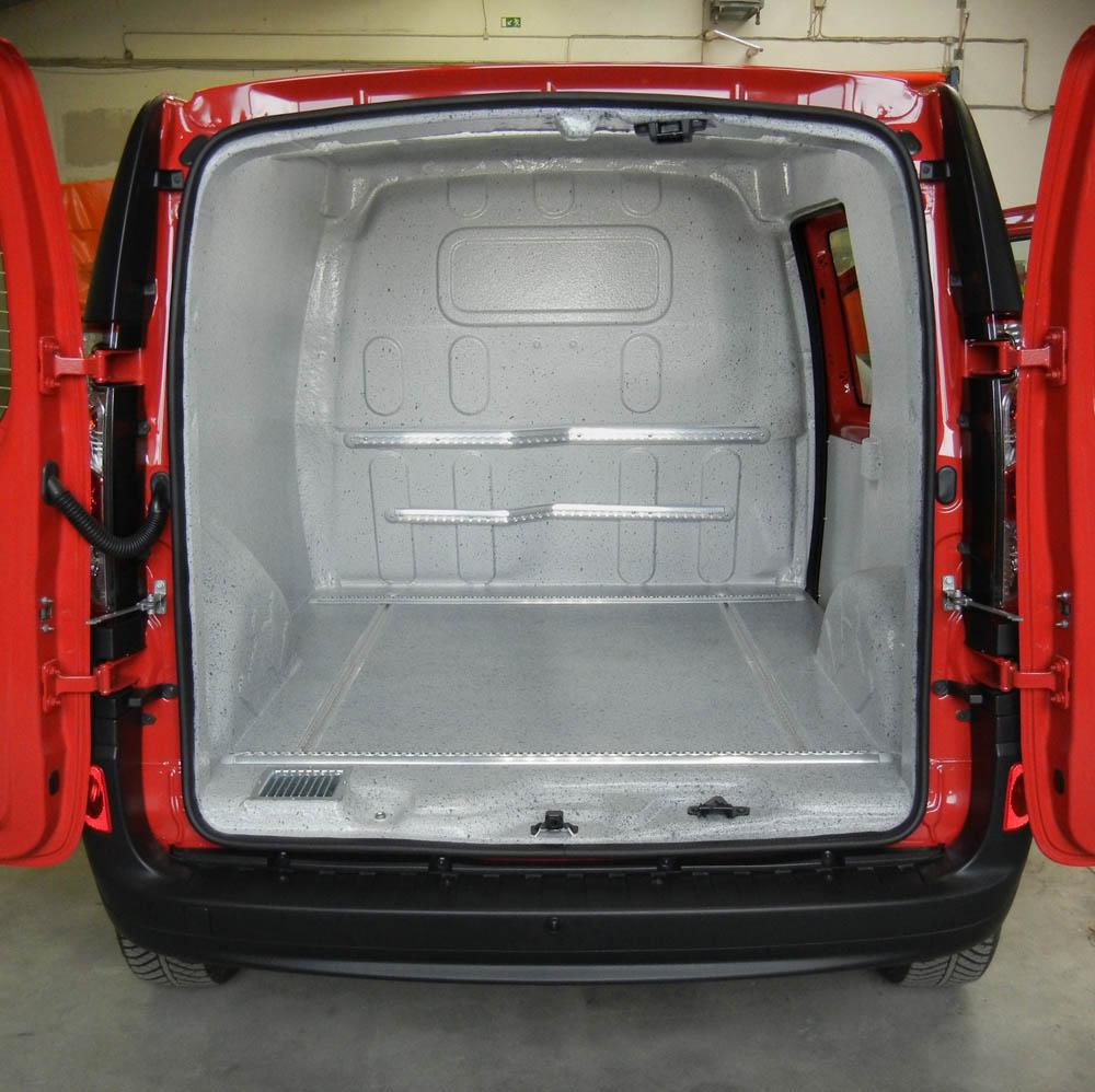 Gasflaschentransportwagen mit Ladungssicherung für die BASF