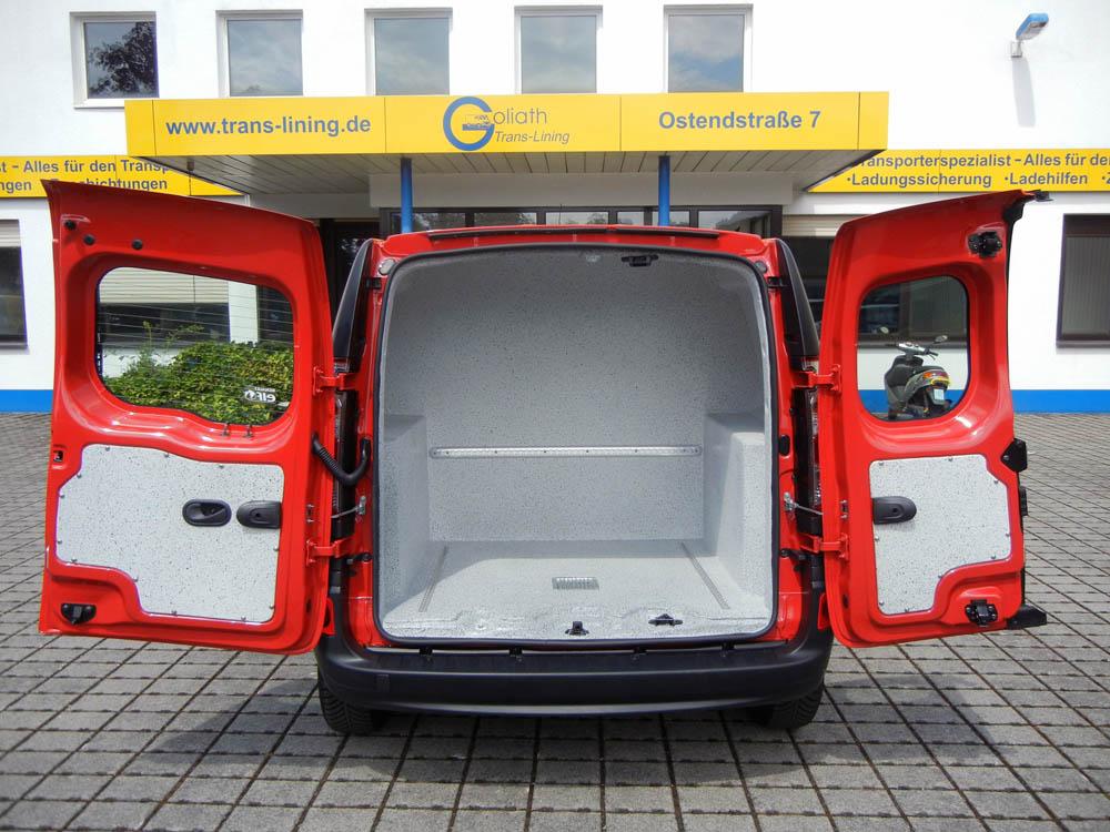 Gasflaschentransportwagen mit Ladungssicherung und Belüftung