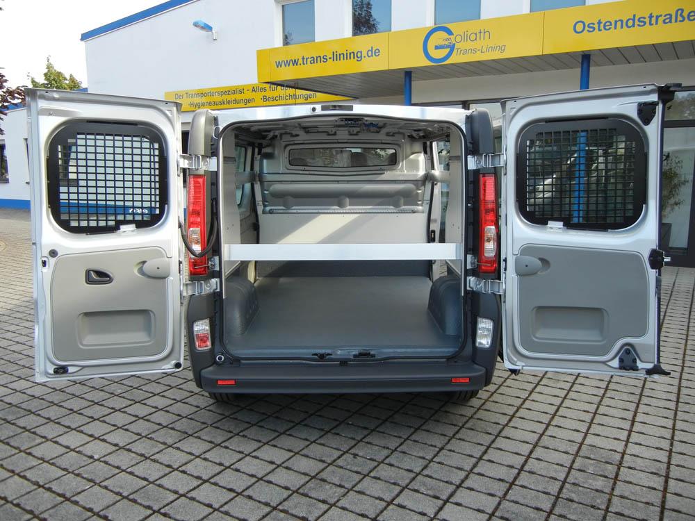 Umfassende Ladungssicherung nachgerüstet im Getränketransporter