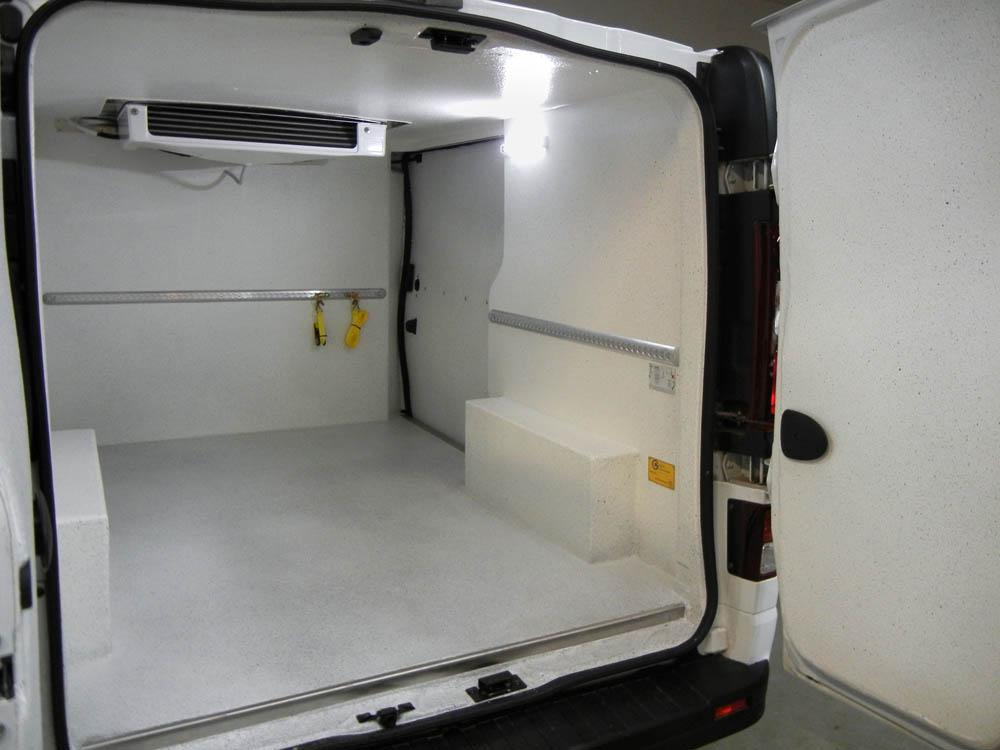 Opel Vivaro oder Renault Trafic ausgebaut als Kühlfahrzeug für Metzgerei