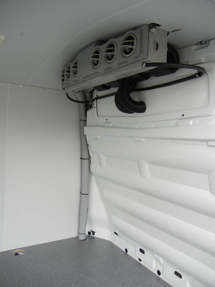 Laderaum Kühl-Heiz-Sytem zum Klimatisierung des Transporters