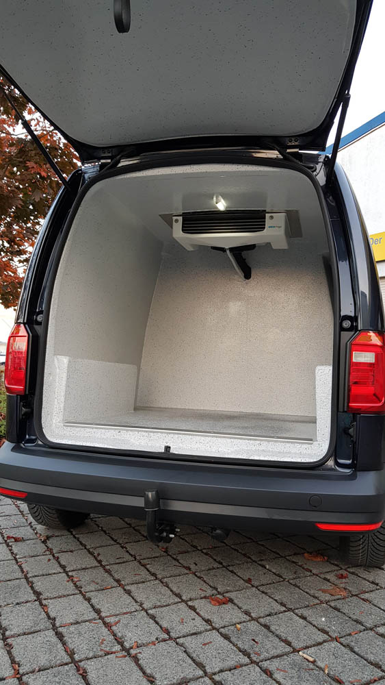 Laderaum Kühl-Heiz-System zur Klimatisierung des Transporters
