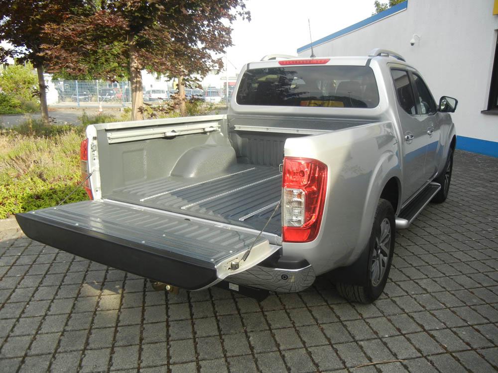 Pickup Beschichtung bei einem Nissan Navara