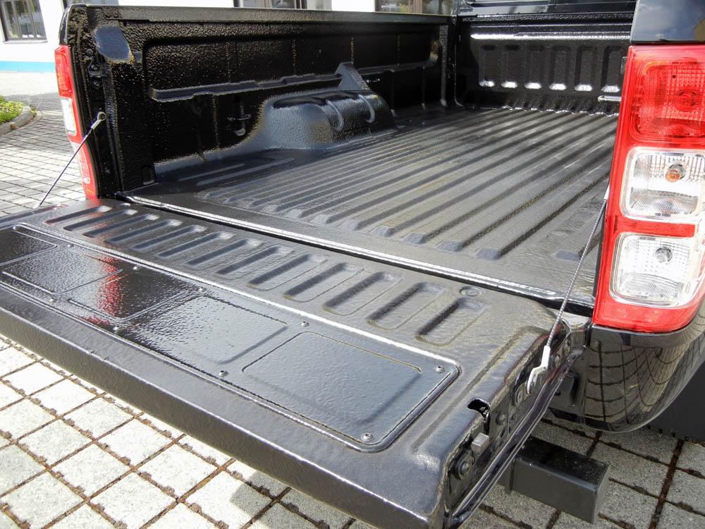 PU-Beschichtung eines Pick-Up ist robuster als eine Wanne