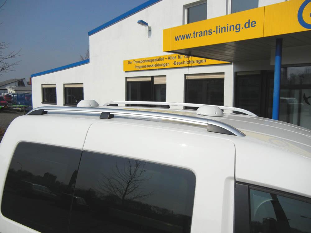Laderaumbelüftung im Transporter mit zwei standard Dachlüftern in Kombination