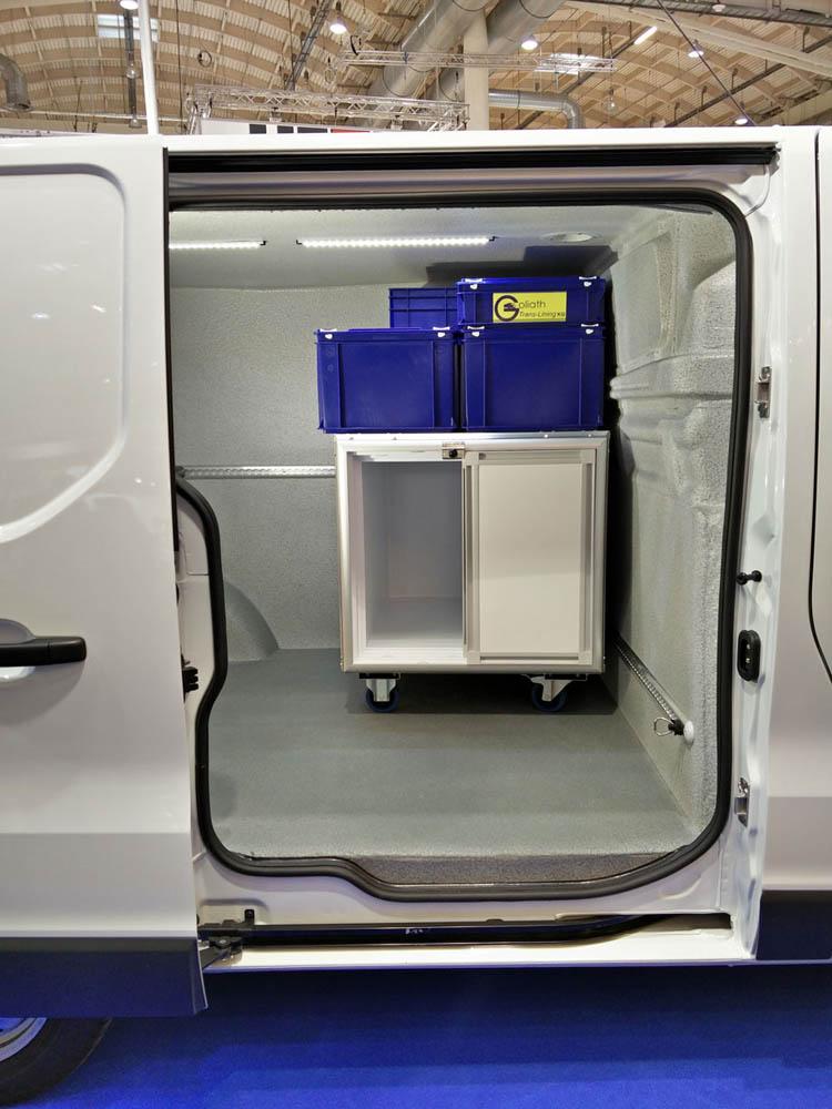 WAECO mobiler Kühlcontainer für den Transport von gekühlten Waren